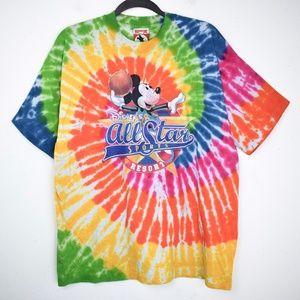 *Tie Dye* Vintage Disney Mickey Inc T Shirt